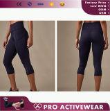 Calças por atacado de Capri das calças justas das caneleiras das mulheres