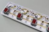 RoHS IEC 증명서 전원 소켓을%s 가진 250V 3.4.5 방법 힘 지구