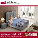寝室のホームおよびホテルの家具(G7009)のための装飾されたプラットホームの革ベッド