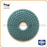 화강암 대리석 세라믹 돌을%s 큰 크기 좋은 품질 다이아몬드 공구 젖은 닦는 패드