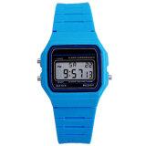 Mode sport personnalisé Bracelet cadeau numérique à puce de silicium montre-bracelet (DC-082)