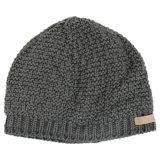 Cappello del Beanie del Knit della peluche dello strato di ghiaccio permanente