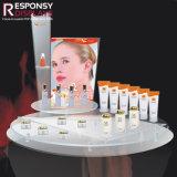 Plaque acrylique conteneur cosmétiques crème blanchissant afficher le compteur