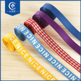 Commercio all'ingrosso su ordinazione di seta puro personalizzato reso personale del fronte del doppio del ricamo