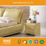 [أ935] جلد بسيطة حديثة جديدة تصميم سرير