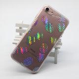 iPhone 8 аргументы за горячего вспомогательного оборудования мягкое IMD телефона крышки TPU случая телефона лазера сбывания цветастого мраморный
