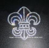 Стикер ясной белой собственной личности конструкции сердца Chro слипчивый кристаллический для окна автомобиля украшает (сердце tS-Chr)