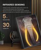 Première mondiale de lumière LED brevetée canvas peinture d'huile d'art mural avec Bluetooth