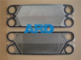 Ss304/ss316L'échangeur de chaleur de la plaque pour l'eau de refroidissement eau/huile