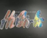 Rhinestone-Motiv GlasHotfix Geweberhinestone-Änderung am Objektprogrammsequin-Wärmeübertragung (TS-Higirl)