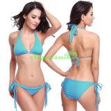 Heißer reizvoller Dreieck-Zeichenkette-Bikini für Frauen