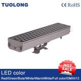 LED Profissional de elevada potência de iluminação exterior 72W Projector LED