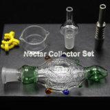 14mm 19mm de Waterpijpen van het Glas van de Uitrusting van de Collector van de Nectar van Tegenhangers