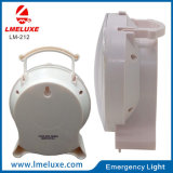 6W LED recargable luz de la tabla de emergencia