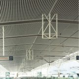 Hohles Kapitel-Aluminiumleitblech-lineare Decke mit Form-Entwurf