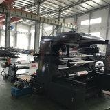 Impresora de Flexo del material de empaquetado de dos colores