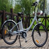 Classical 26 '' 36V 250W Mulher City Road Electric Bike