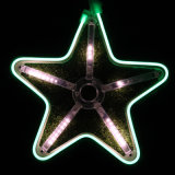 L'indicatore luminoso di natale del LED Stars gli indicatori luminosi al neon/con le precipitazioni nevose