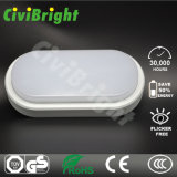 Lámpara de techo de 8W LED Oval Damp-Proof