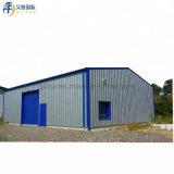 La Chine des matériaux de construction préfabriqués hangar de métal Structure en acier pour l'entrepôt&Atelier&étable