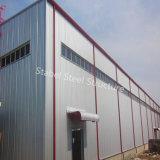 Magazzino prefabbricato della struttura d'acciaio con l'alta qualità