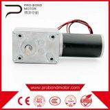 12V CC Gusano alto par motor reductor