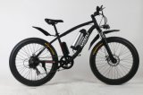 26 بوصة جبل كهربائيّة وسط درّاجة مع سمينة إطار العجلة عجلة