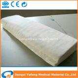 Tessuto candeggiato della garza del cotone nello zigzag