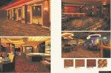 Axminsterの一面のホテルのウールのカーペット