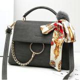 De nieuwe Inzameling van de Lente Dame Shoulder Bags Best Selling Handtas met de Sjaal Sy8171 van de Zijde van het Bont