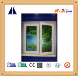 Profil d'extrusion de meneau de T pour 60 séries Windows de tissu pour rideaux et portes