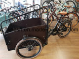 250With500W電気自転車かElektrische Bakfietか電気貨物Trike/Eバイクまたはグループの貨物三輪車W Bafangの中間モーター、Nuvinciの自動ギヤ、大箱の電池