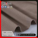 Tissu 100% coton haute qualité pour pantalons 240GSM