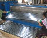 Zincalume corrugou a folha de aço da telhadura de Aluzinc dos painéis do metal