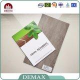 Plancher d'intérieur environnemental de vinyle de PVC de formaldéhyde nul