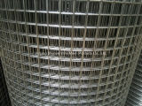Сваренная металлом ячеистая сеть в крене для загородки