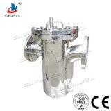高品質の廃水Stystemのための産業ステンレス鋼のバスケットのタイプフィルターハウジング
