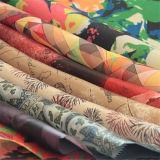 Напечатано полиэфирная ткань для одежды внутренней панели боковины