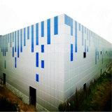 Edificio de acero ligero del almacén de la estructura de acero de Peb con bajo costo