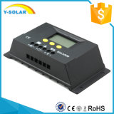 regulador S30 do carregador de bateria do controlador 12V/24V da carga do painel solar de 30A LCD