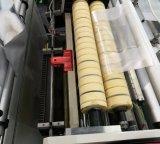 Trois ligne sac de la couche six de découpage froid faisant la machine avec le convoyeur (SHXJ-800L)