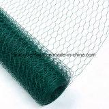 Compensation de fil hexagonale enduite de PVC avec de l'acier à faible teneur en carbone