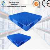 Pálete plástica resistente reversível