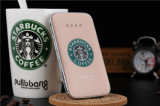 Starbucks Ultrafinas Banco Energia Slim 8000mAh a alimentação do calculador