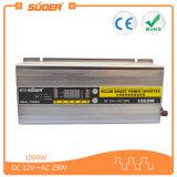 CC 12V di Suoer 1000W all'invertitore di energia solare di CA 220V con il caricabatteria (HBA-1000C)