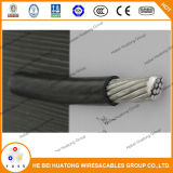 UL Стандартный алюминиевый проводник Xhhw-2 2AWG, XLPE кабель