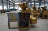 Comestibles automática presionando fría y caliente prensa de aceite mecánica de la soja