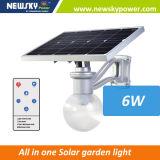 Das im Freien preiswerte Licht-Garten-Beleuchten integrierte alle in einem Solarstraßenlaterne