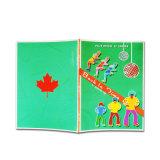 四色刷の写真アルバムのカスタム本の印刷の児童図書