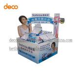 Expositor de cartón ondulado de palets de papel para promoción